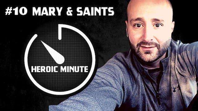 #10 Mary & Saints
