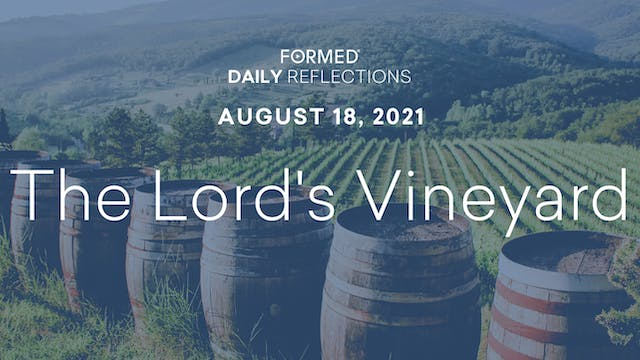 Daily Reflections – August 18, 2021