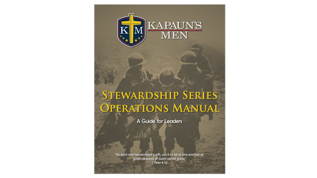 Kapaun's Men Stewardship Series Operations Manual