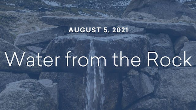 Daily Reflections – August 5, 2021