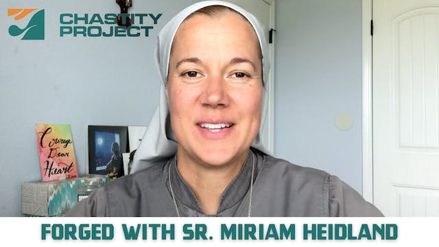 Day 31: Forged with Sr. Miriam James ...