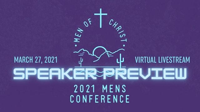 2021 Men of Christ Speaker Preview
