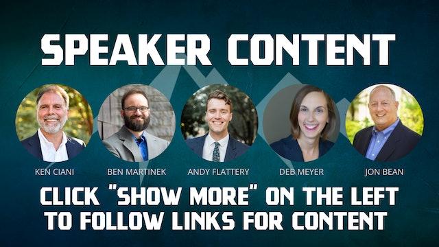 Heroic Summit Speaker Content