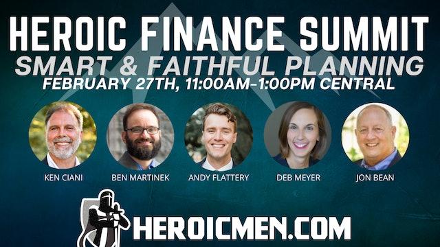 Heroic Finance Summit: Smart and Faithful Planning