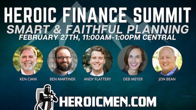 Heroic Finance Summit: Smart and Fait...