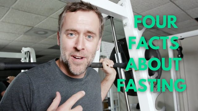 FOUR facts about FASTING