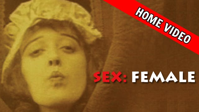 Sex: Female (Home Video Sale)