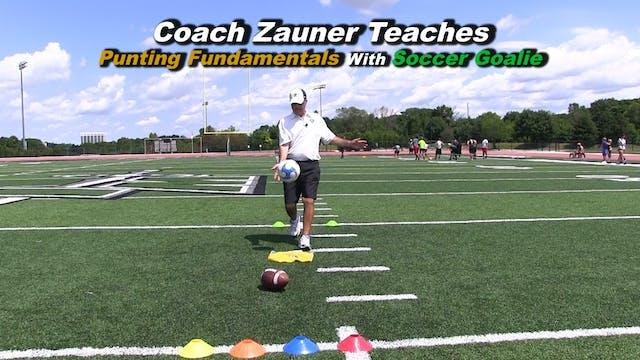 #3 Coach Zauner Teaches Punting Funda...