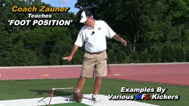 #1 Coach Zauner Teaches Proper 'Foot Position'