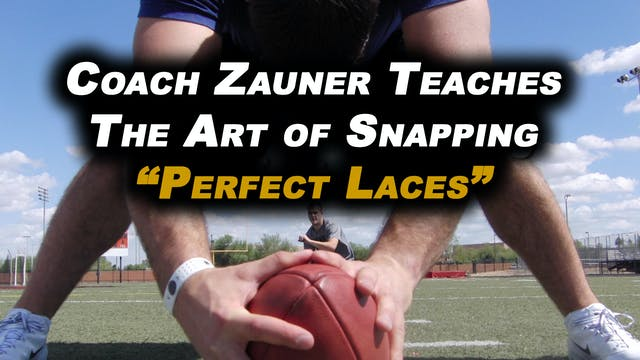 #5 Coach Zauner Teaches The Art of Sn...