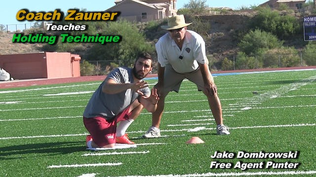 #13 Coach Zauner Teaches NFL Holding ...
