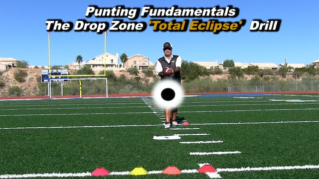 #1 Instructional Video - Punting Fundamentals - Drop Zone 'Total Eclipse' Drill