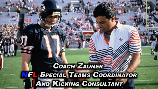 Coach Zauner's Archive Video Review of Veteran NFL Punters I Coached or Trained