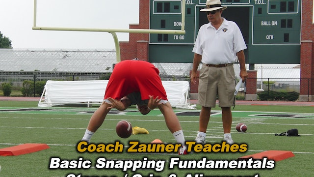 #4 Instructional Snapping Video - Stance, Alignment, Fundamentals & Drills