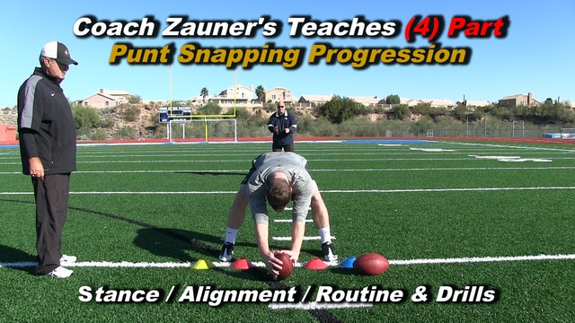 #7 (4) Part Snapping Progression Drill with Rick Lovato Old Dominion University