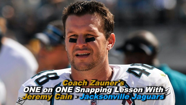 #6 ONE on ONE Snapping Lesson with Jeremy Cain NFL Snapper