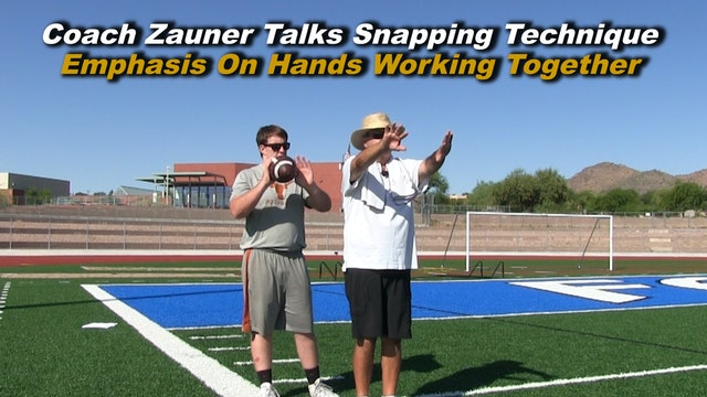 #2 Instructional Snapping Video - Emphasis on Hands Working Together