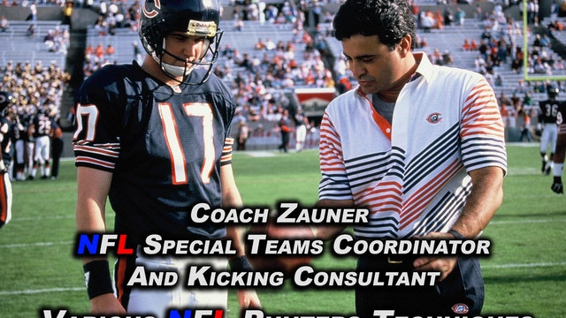 #14 Coach Zauner's Archive Video Review of NFL Punters I Coached or Trained