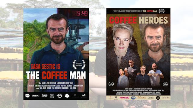 'Coffee Heroes' + 'The Coffee Man'