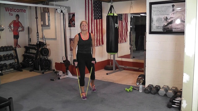 "30-Minutes to Fitness ""RAW"" Boxing and Tubing"