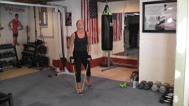 """30-Minutes to Fitness """"RAW"""" Boxing and Tubing"""