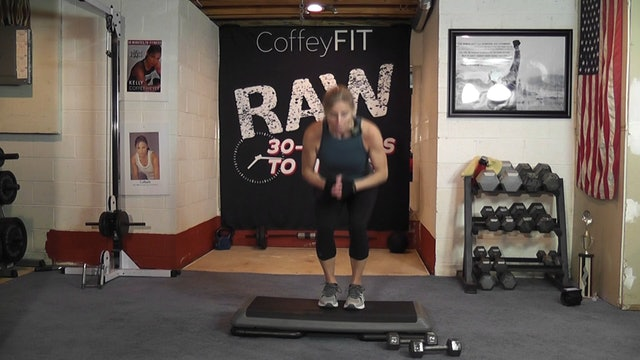 "30-Minutes to Fitness ""RAW"" Step Drills & Compound Moves"