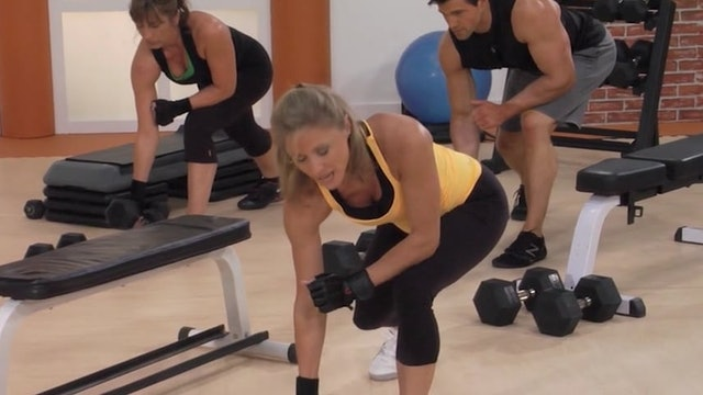 Muscle Up-First-Set-Pump