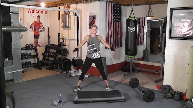 "30-Minutes to Fitness ""RAW"" Athletic Cardio Drills and Barbells"