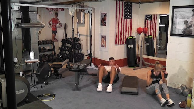 """30-Minutes to Fitness """"RAW"""" Fitness Test Workout"""