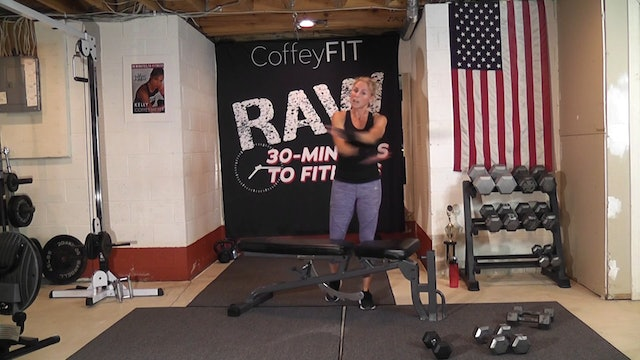 """30-Minutes to Fitness """"RAW"""" Day 2 Strength (Chest and Triceps)"""