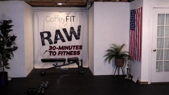 """""""RAW"""" 4- Day Split Shoulders & Legs"""