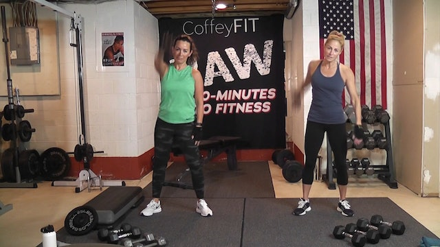 """30-Minutes to Fitness """"RAW"""" Day 3 Strength (Shoulders & Legs)"""