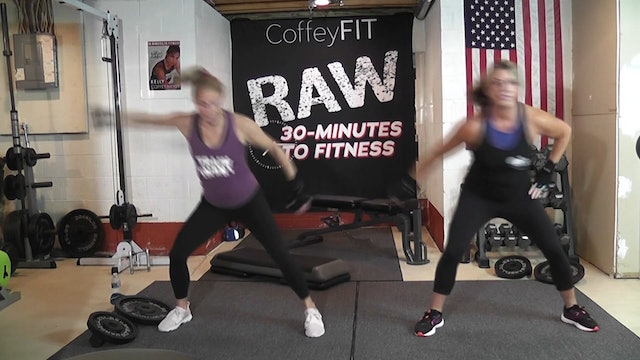 """RAW"" Day 4 : Total Body Strength"