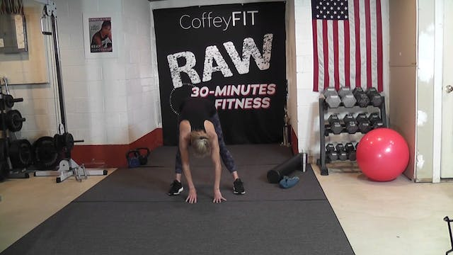 """RAW"" Day 5 Strength :STRETCH"