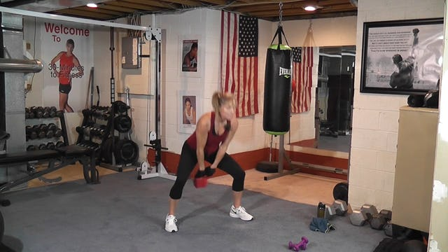 "30-Minutes to Fitness ""RAW"" Kettlebell&Kickboxing"