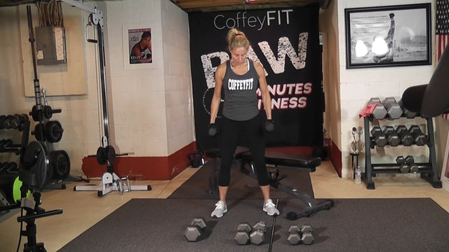 """30-Minutes to Fitness """"RAW"""" Day 1 Strength Rotation (Back and Biceps)"""