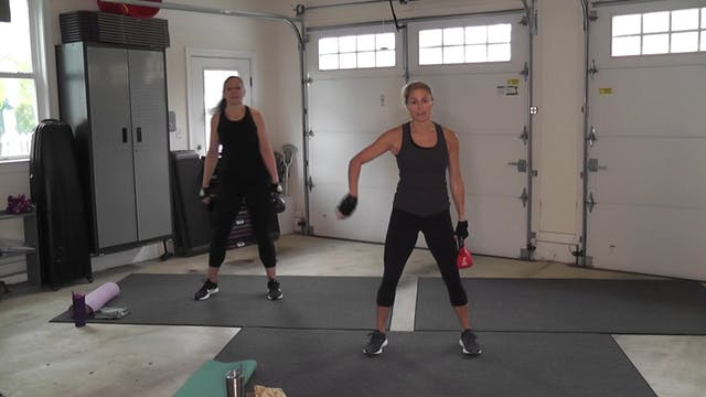 """RAW"" Kettle Bells with Kaitlin"