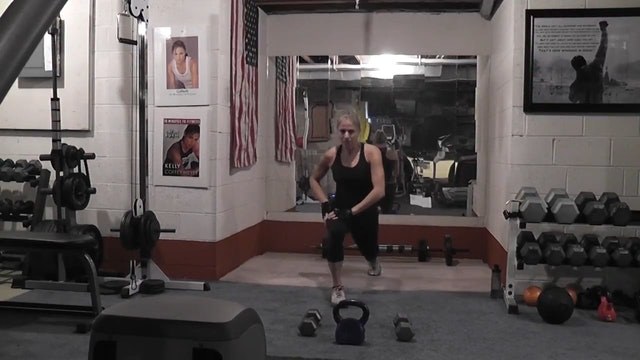 Raw-Kettlebell and DBs
