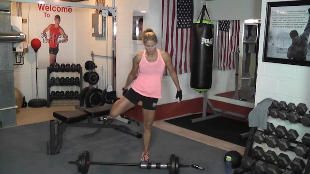 30 Minutes to Fitness -RAW- Tabata Barbell-DB Workout