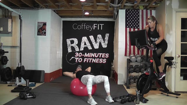 """30-Minutes to Fitness """"RAW"""" R&R November"""