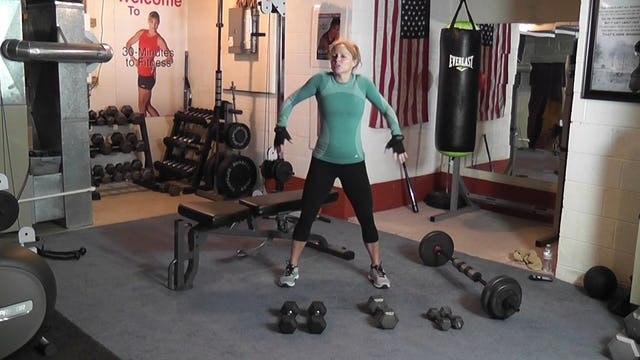 """Coffeyfit Raw 30-Minutes to Fitness """"Weights Circiut #1"""""""