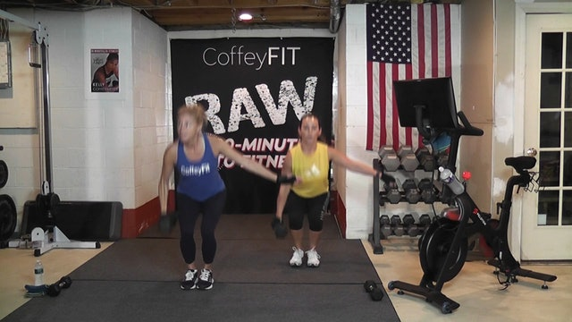 """30-Minutes to Fitness """"RAW"""" R&R October"""