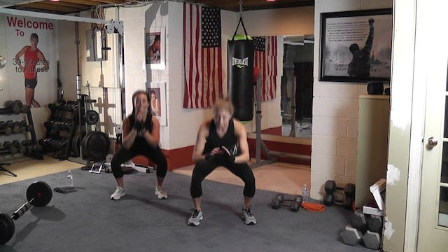 "30-Minutes to Fitness ""RAW"" Kickboxing & Olympic Lifts"