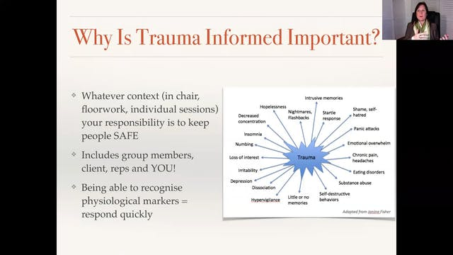 Facilitating  Trauma Triggers with Jane Peterson PhD and Brenda Sutherland