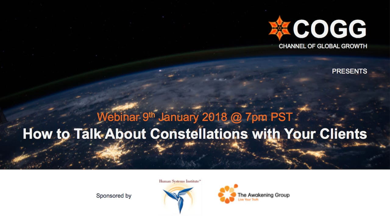 How to talk about Family Constellations with your clients