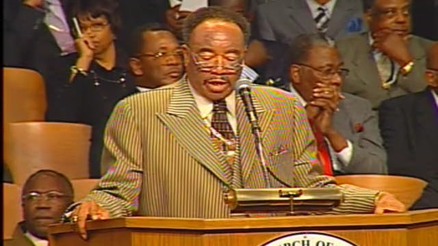 98th HC 05 Tue Opening Service Pastor Corby Bush