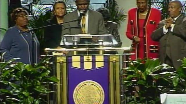 98th HC 05 Wed Morn Manna Bishop G.E. Patterson