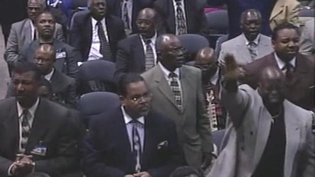 96th HC 2003 Saturday Evening Pastor Rance Allen