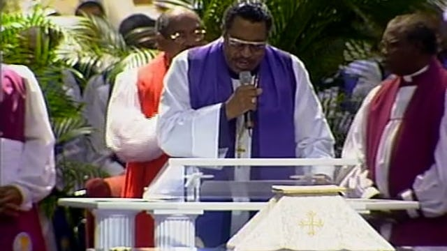96th HC 2003 Monday Morning Communion Service Bishop Phillip A. Brooks, I