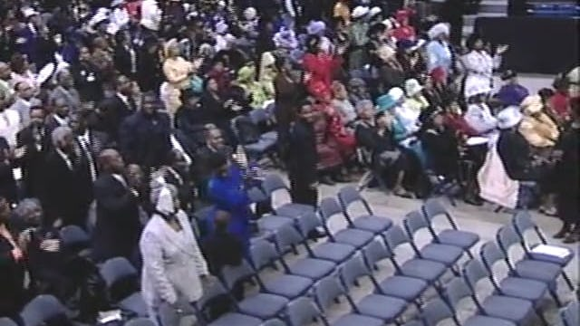 96th HC 2003 Sunday Evening Pastor Marvin WInans